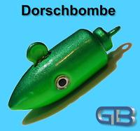 Meeresjig Dorschbombe 25g, 40g, 50g, 75g, 100g, Jig Bleikopf Kopf Flexi Kopf.