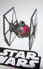 """CUSTOM MADE..STAR WARS """"NEW HOPE"""" TIE FIGHTER (RED/BLACK) KEYCHAIN..GREAT GIFT"""