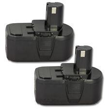 2 x 4.0AH 18V 18 VOLT Lithium-Ion Battery for Ryobi P105 One+ P104 Cordless Tool