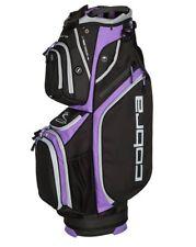 Cobra Ultralight Cart Bag / Golfbag Schwarz/Violett Puma Golftasche 909264