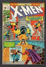 X-Men #71 Marvel Comics Bronze Age 1971 FN Professor X Cyclops Ice Man Beast +