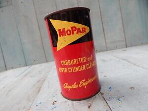VINTAGE CHRYSLER,MOPAR 50's FORWARD LOOK ORIG CARBY CLEANER TIN HTF COLLECTIBLE