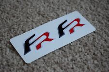 Seat FR Emblem Badge Logo Car Race Racing Rally Ibiza Leon Decal Stickers 50mm