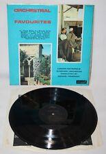 """12"""" LP-London Metropolis Symphony Orchestra-Orchestral Favourites - 1966"""