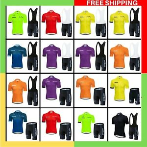 2021 Men STRAVA Pro Team summer cycling Jersey set Bicycle Clothing Breathable