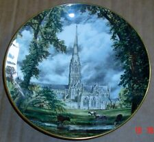 Crown Staffordshire JOHN CONSTABLE SALISBURY CATHEDRAL Collector Plate