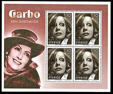 Svezia 2005 - Greta Garbo - Foglietto nuovo - MNH - Tiratura 30.000