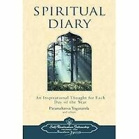 Spiritual Diary: An Inspirational Thought for Each Day of the Year [Self-