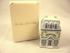 Lenox Spice Village Mustard Spice Jar 1989 Vintage Victorian NIB Free Shipping