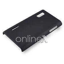 Funda Carcasa para LG OPTIMUS L5 E610 P610 Rígida NEGRO a579