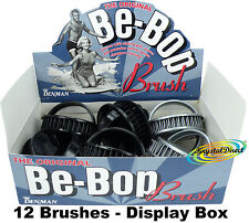 12 X Denman D6 Be Bop Hair Brush Shampoo/scalp Massage Pad