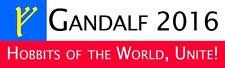 Hobbits of the world, Unite! - Gandalf for President 2016 bumper sticker