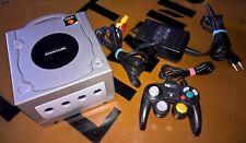 # console NINTENDO GAMECUBE (PAL & NTSC) + PAD + elettricità - & TV porta-TOP #