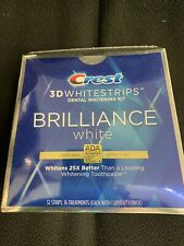 New Crest 3D Brilliance white-(32 strips) Exp 01/22- Free USA Shipping!