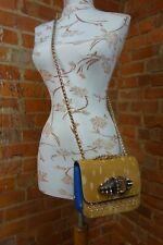 CHRISTIAN LOUBOUTIN ponyhair / spike 'Sweet Charity' BOW shoulder bag. £1,195.00
