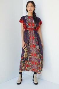 Anthropologie Jyoti Sharma's Elaine Maxi  Dress Size UK 16 RRP £180