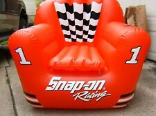 Snap On racing Inflatable lounge Chair blow up chair