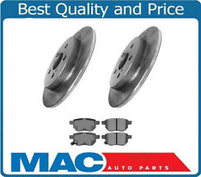 09-15 Prius & Plug In Rear Disc Brake Rotors & Ceramic Rear Pads