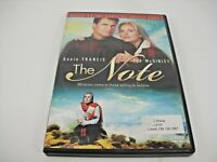 THE NOTE DVD (GENTLY PREOWNED)