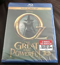 Oz the Great and Powerful 3D (Blu-ray 3D/Digital, 2013) NEW Disney 3D OOP