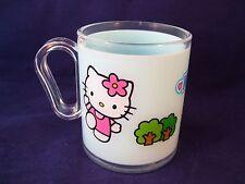 Sanrio Hello Kitty Child's Cup Mug Plastic Blue 250 ml Home Presence