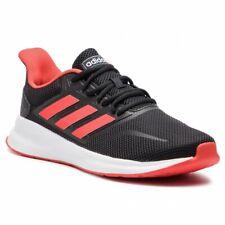 Adidas runfalcon Rojo Blanco Y Negro Edición Correr Entrenamiento Calzado Para Hombres Gimnasio