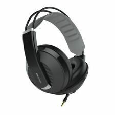 Superlux Closed-back Type Hd662 EVO Professional Monitoring Headphones Black