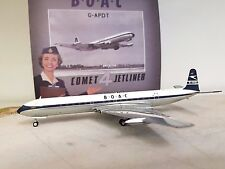 DH 106 COMET 4 BOAC G-APDT 'polished a die cast model in 1/200 scale
