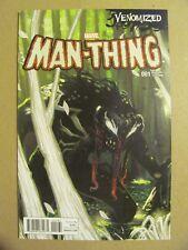 Man-Thing #1 Marvel Comics 2017 Series Venomized Variant 9.4 Near Mint