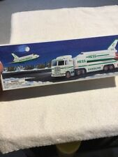 Hess Toy Truck And Space Shuttle With Sateilite 1999