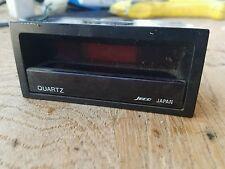 84-87 Honda Civic CRX Digital Clock OEM Amber light oem quartz