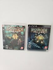 Bioshock 1 and 2 Ps3 very good condition CIB
