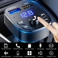 FM Transmitter Bluetooth 5.0 Auto MP3 Player USB Stick KFZ SD Freisprechanlage