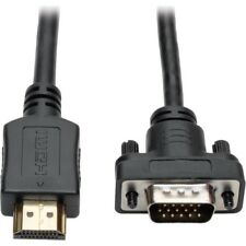 Tripp Lite HDMI to VGA Active Adapter Cable Low Profile HD15 M/M 1080p 3ft