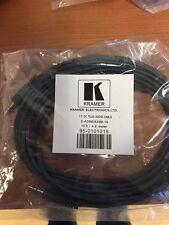 Kramer 3,5mm Jack Cable 4,6m 15ft  C-A35M/A35M-15 Klinke Audio Kabel 95-0101015