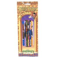 HARRY POTTER 6 Pack of  Pencils With Bookmark - New Sealed