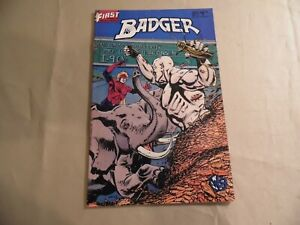 Badger #27 (First 1987) Free Domestic Shipping