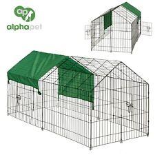 New listing Alphapet Metal Pet Run Enclosure Rabbit Guinea Pig Chicken Dog Animal Playpen