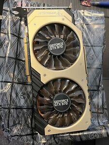 Palit NVIDIA GeForce GTX 970 Jetstream 4GB Graphics Card. Never OC or Mined