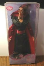 JAFAR doll from Aladdin Disney store new sealed classic doll collection rare