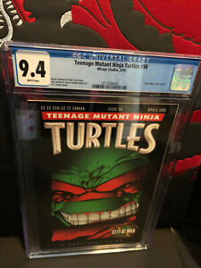 Teenage Mutants Ninja Turtles #58 CGC 9.4 NM WP Mirage