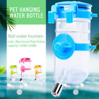 Puppy Dog Pet Hanging Water Bottle Cat Home Travel Dispenser Automatic Feeder