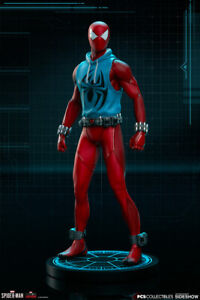 PCS Collectibles Marvel Spider-Man Scarlet Spider Resin Statue New and In Stock