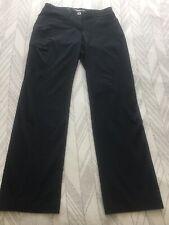 exofficio womens pants Long Black Pants Size 6 Originally 90