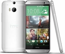 "HTC One M8 32GB Dual Kamera 5"" DISPLAY 4G LTE Entsperrt brandneu Telefon Silber"