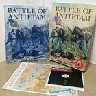 Battle Of Antietam (apple Ii 1985 Strategic Simulations Inc) Box Manual & Map