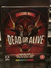 DEAD OR ALIVE TRILOGY  BLU-RAY SPECIAL LIMITED EDITION! ARROW VIDEO! BRAND NEW!