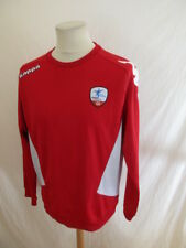 Sweat de football vintage Fréjus Saint Raphael Kappa Rouge Taille L