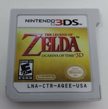 The Legend of Zelda Ocarina of Time 3D (3DS, 2016) Cartridge Only Tested