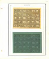 AVO ! [1027] FOURNIER faux forgery Italie Italia Romagnes timbres bloc sheet SUP